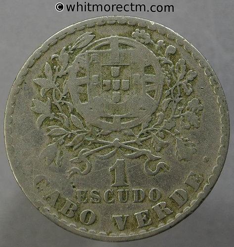 1930 Portugal 1 Escudo coin