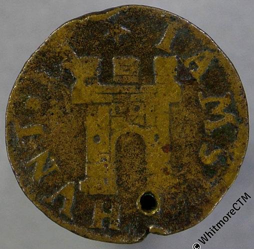 17th Century Token Farnham 79 Iames Hunt. Castle Norweb 4580.