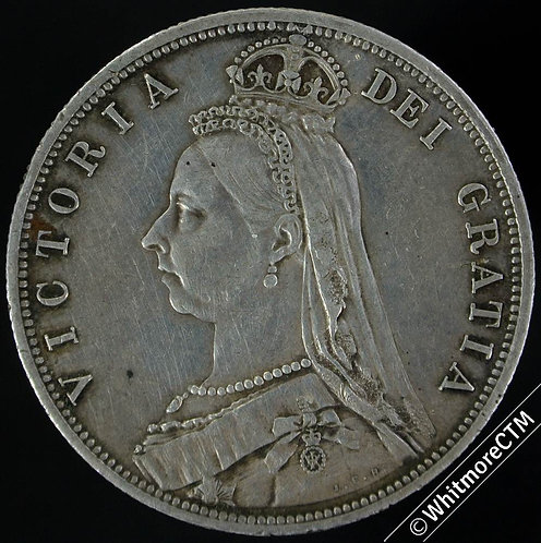 1887 Half-Crown Victoria Jubilee Head