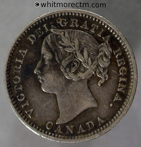 1894 ( Rev ? ) Canada Ten Cent coin - Victoria - Rare
