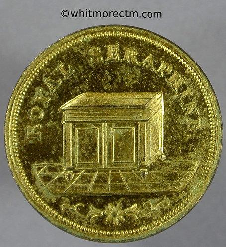 Unofficial Farthing London 2580 J.Green. 33 Soho Sq - Gilt bronze