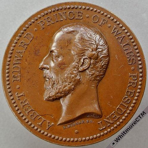 1874  International Exhibition Medal 51mm By Morgan Bronze Edge F.Parkinson & Co