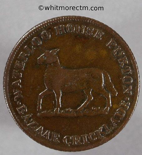 Unofficial Farthing Purton 4370 John Lamb Draper etc. / Lamb depicted