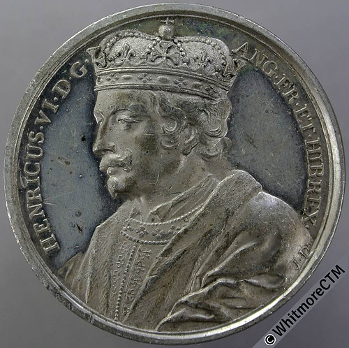 Kings of England Series Medal 41mm Henry VI B1437-15 Thomason after Dassier.