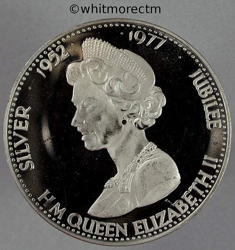 1977 Silver Jubilee Queen Elizabeth II Medallion 39mm WE8748
