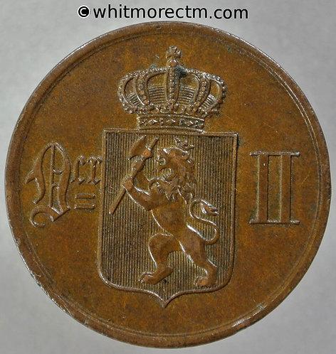 1876 Norway 5 Ǿre - Y21