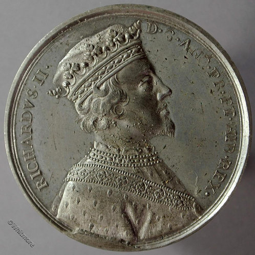 Kings of England Series Medal 41mm Richard II B1437-12 Thomason after Dassier