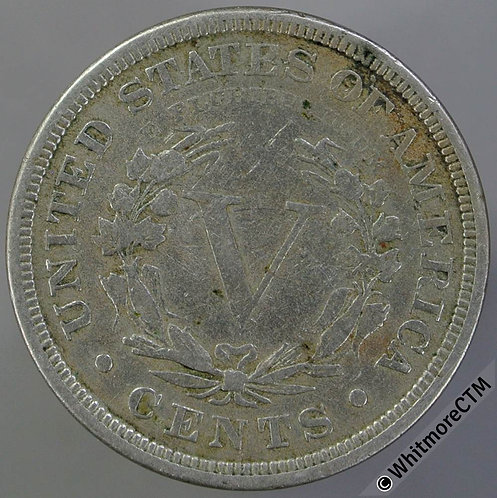1884 USA Five Cents