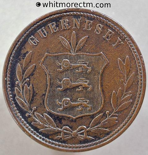 1864 Guernsey 8 Doubles 2+A - E12