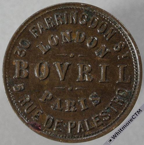 Unofficial Farthing London & Paris 2372 Bovril 30 Farringdon St
