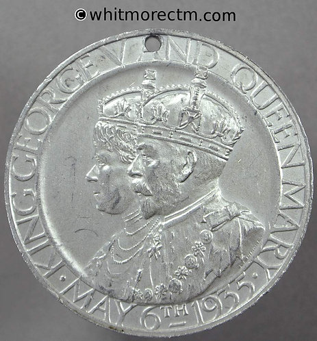 1935 Silver Jubilee George V medal 35mm B4261 Aluminium