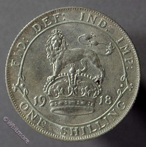 1918 British Shilling George V