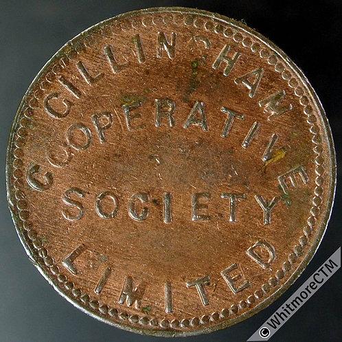 Co-Operative Society token Gillingham 22mm £1 - Bronze. Plain edge. Not in Rains