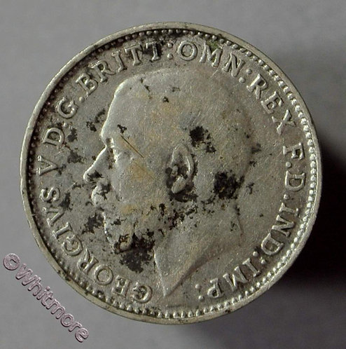 1926 British Threepence George V 1st Obverse