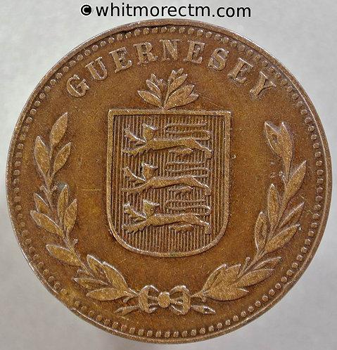 1920 Guernsey 8 Doubles 1920H E86