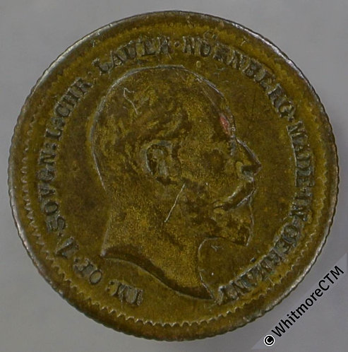 Toy Coin 1902 Lauer Sovereign 13mm R730