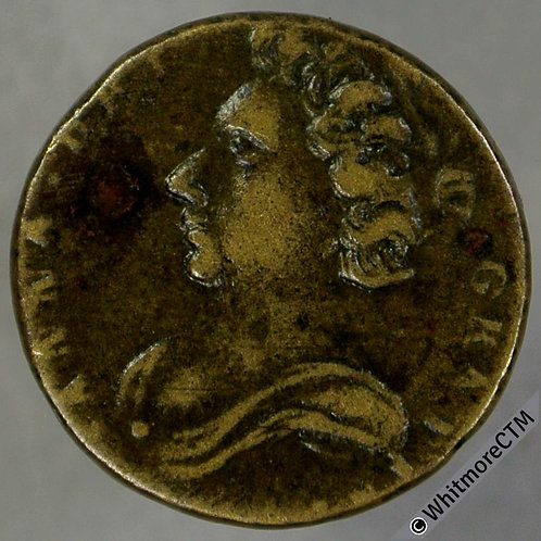 Coin Weight 17mm W1404 Anne - bust L./ Crown ½ (reversed 2) guinea W
