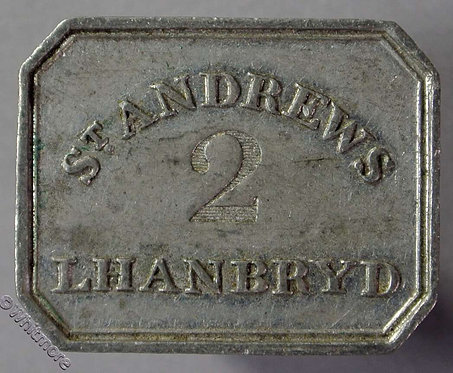 Communion Token St. Andrews Lhanbryd Stamped 2