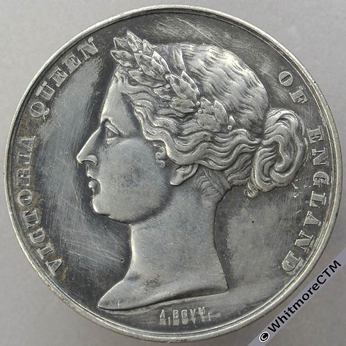 1862 InternationalExhibition Medal in French 50mm By Bovy AB020White metal