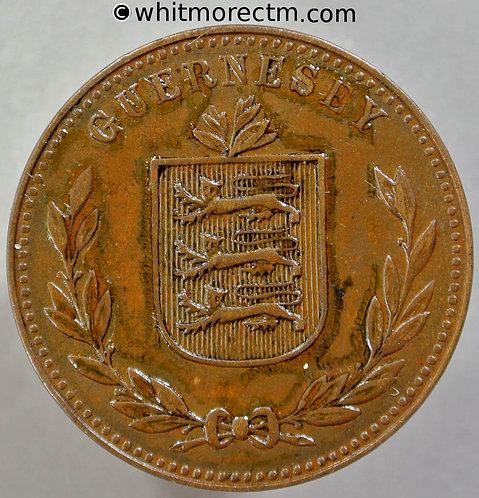 1945 Guernsey 8 Doubles 1945H E97