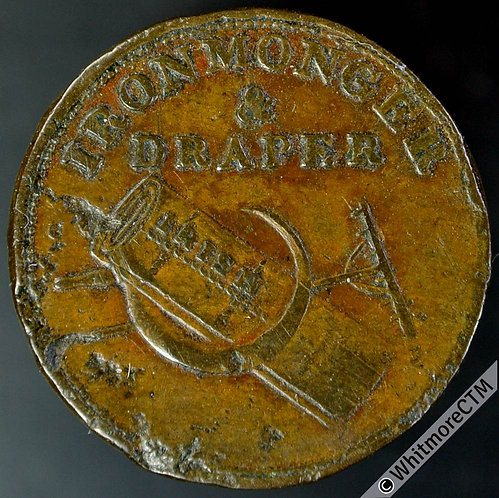 Unofficial Farthing Unknown 7740 R.Hoare / Ironmonger & Draper