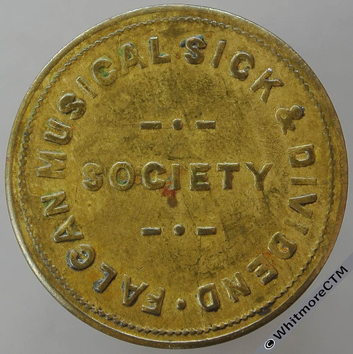 Unidentified Refreshment Token Falcan Musical Sick & Dividend Society 3D
