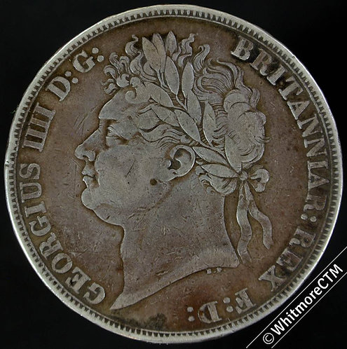 1821 British Crown George IV 5/-