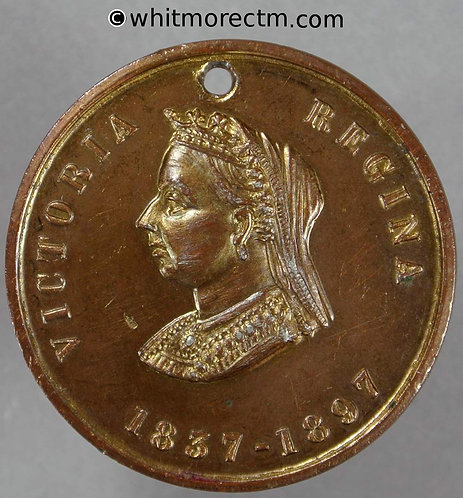 1897 Victoria Jubilee Medal 31mm WE3790 Rev A But not recorded in Gilt W.M