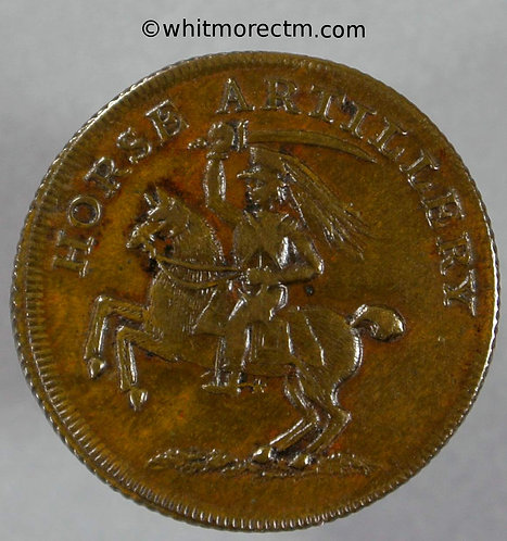 Unofficial Farthing London 2500 (var) Horse artillery Mounted dragoon Unrecorded