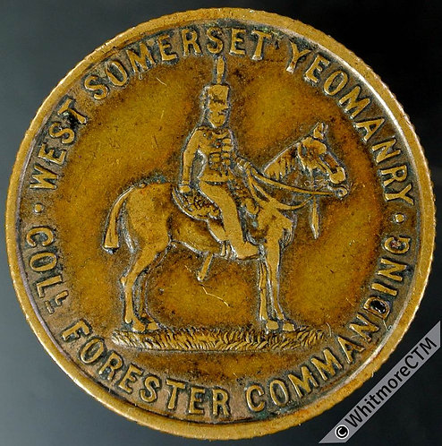 Armed Forces Token Taunton 27mm (1901) MY193 Return of W.Somerset Yeomanry