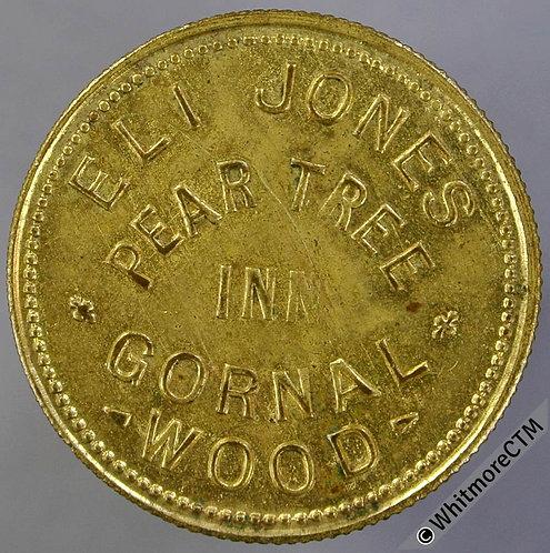 Gornal Wood Pub / Inn Token Pear Tree Inn W5772 1½d Eli Jones By Vaughton VAU33