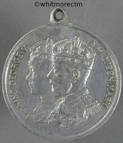Coventry 1935 Jubilee George V Medal 39mm Aluminium with suspender
