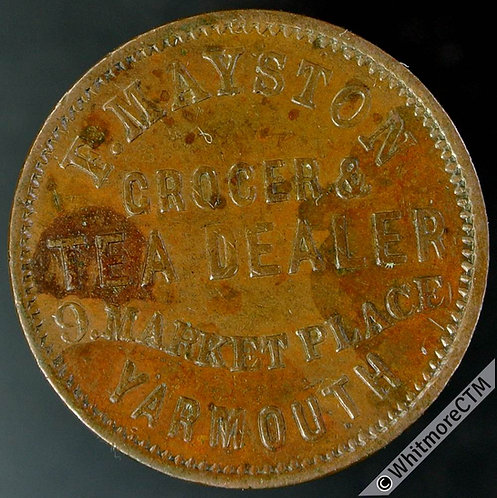 Unofficial Farthing Yarmouth 5270 E Mayston - Grocer & Tea Dealer