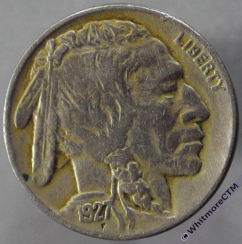 1927 USA 5 Cent Buffalo Nickel - obv