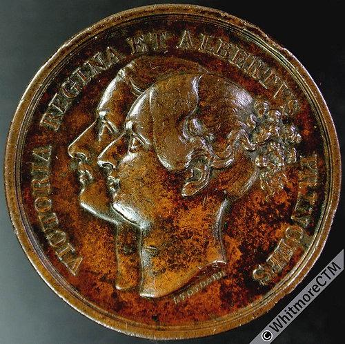 1840 Birth of Princess Royal Victoria Medal 40mm B1953 By Stothard Bronze