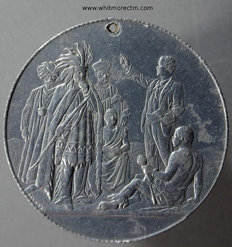1899 Centenary of Church Missionary Society Medal 38mm B3647 Aluminium