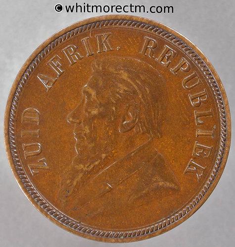 1898 South Africa Kruger Penny - Y1