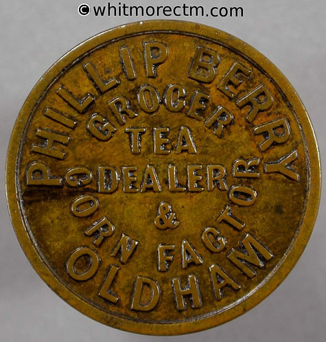 Unofficial Farthing Oldham 4141 (4150) Philip Berry By P & Co - Very rare