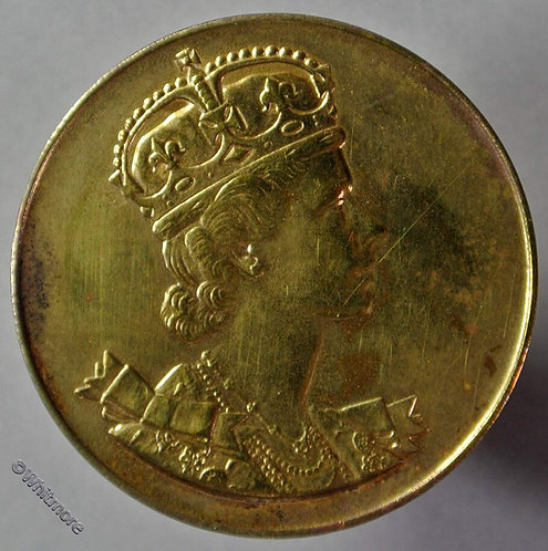 1953 Queen Elizabeth II Coronation Medal obv 33mm - London Zoo Gilt Bronze B4446