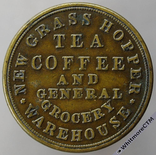 Unofficial Farthing Manchester 3300 George Grantham Deansgate. Tea and Coffee.