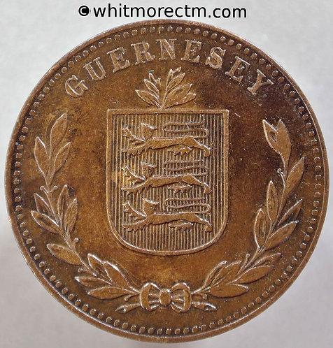 1918 Guernsey 8 Doubles 1918H E83