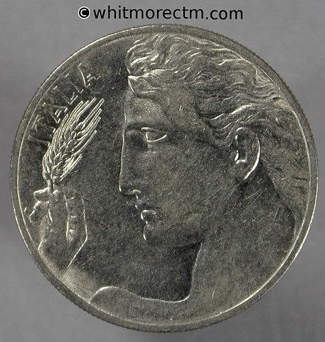 1912 Italy Y47 20 Centesimi coin