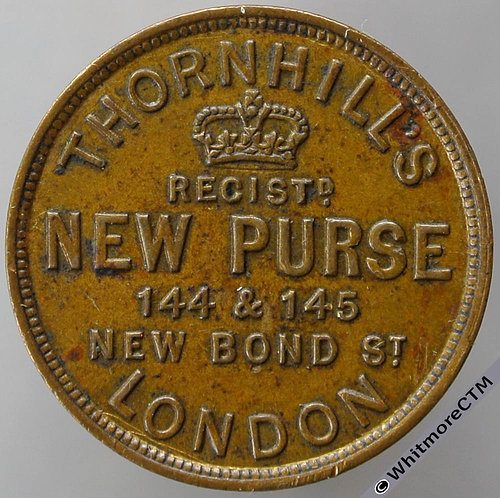 Unofficial Farthing London 2905 Thornhill's New Purse Three CardsExtremely Rare