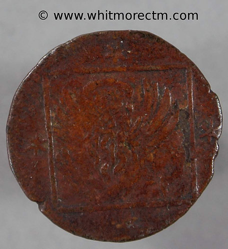 (1554-6) Italy Venice Bagattino coin Madunna. S.V. below