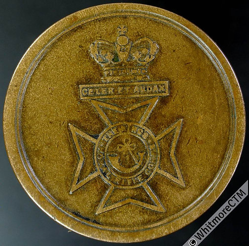 Armed Forces Token Kings Royal Rifle Corps - Corps Badge - 23mm Bronze