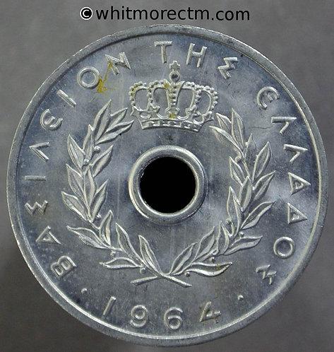 1964 Greece 10 Lepta coin