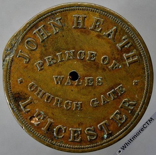 Leicester Inn / Pub Token Prince of Wales Church GateJohn Heath / 3D