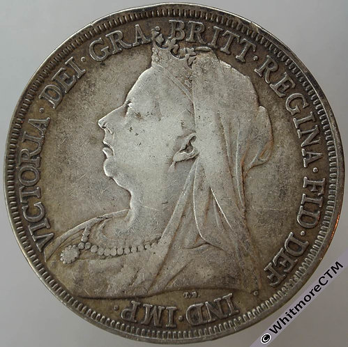 1896 LX Victoria Veiled Head Crown