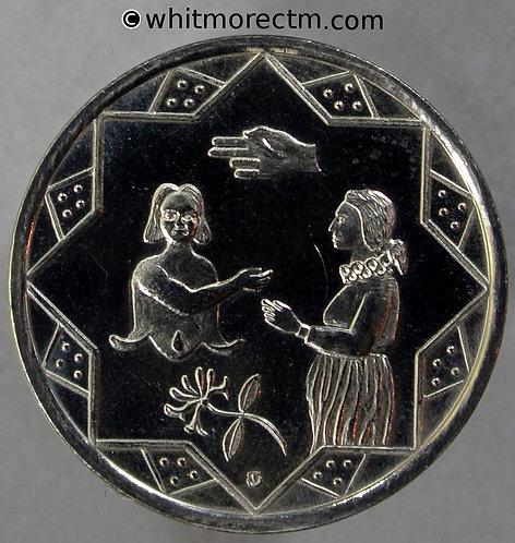 Devon 1995 50th Anniversary of VE & VJ days Medal 27mm - Cupro-nickel