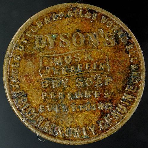 Unofficial Farthing Token Elland 1592 (1915 Leeds) James Dyson & Co. Rare. Bent